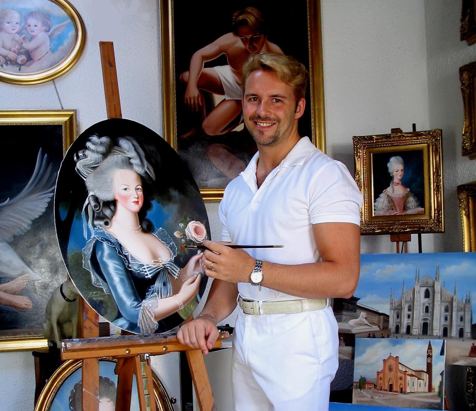 Albert Edwin Flury, l'arte sensibile del ritratto
