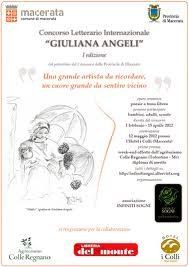 """Concorso Letterario Internazionale """"Giuliana Angeli"""""""