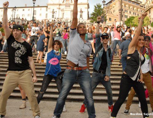 Flash Mob a Piazza di Spagna