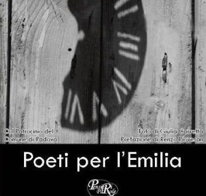 Poeti per l'Emilia, un'antologia per non dimenticare