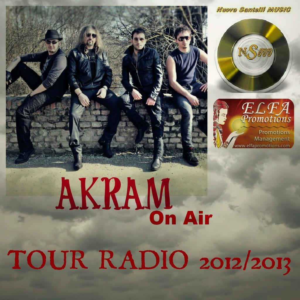 AKRAM Tour Radio 2012, il rock sempre più on air