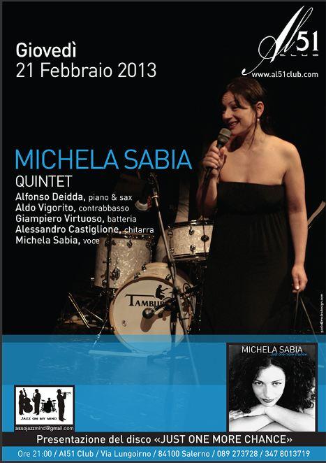 Michela Sabia presenta il suo nuovo album a Salerno