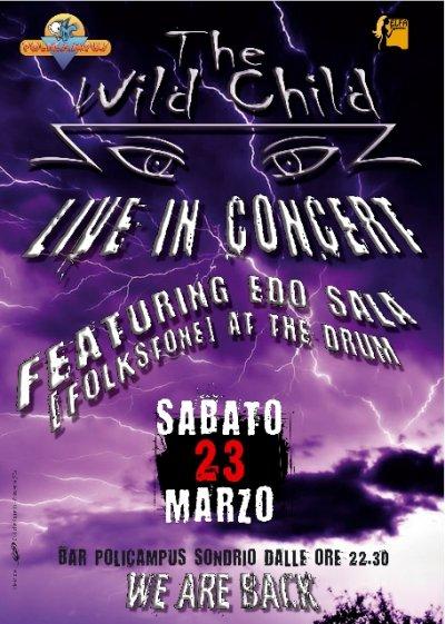 The Wild Child live in Sondrio