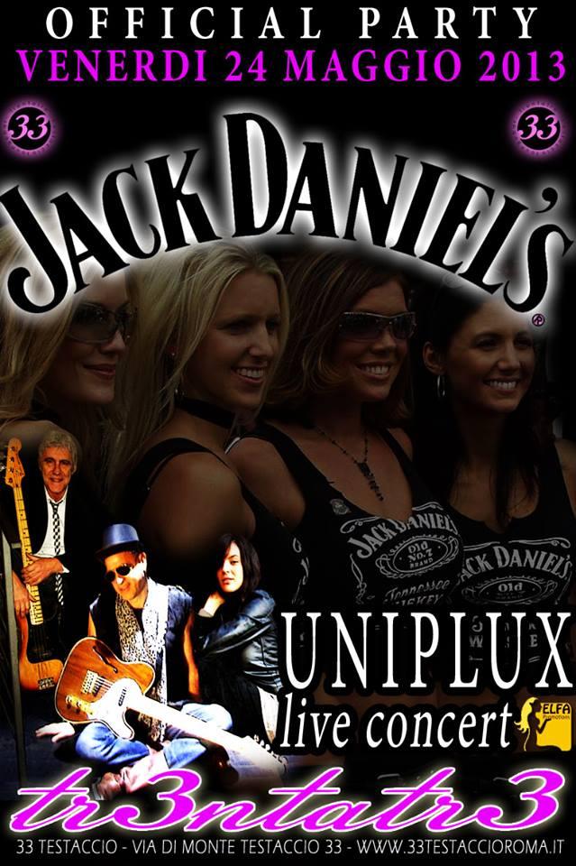 Uniplux live, icona del rock capitolino