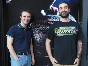 Emiliano Paggetti e Matteo Gabos