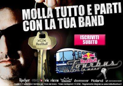 Red Bull Tourbus chiavi in mano 2013