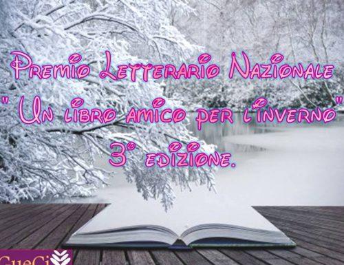 """Premio Letterario Nazionale """" Un libro amico per l'inverno"""" 3° edizione"""