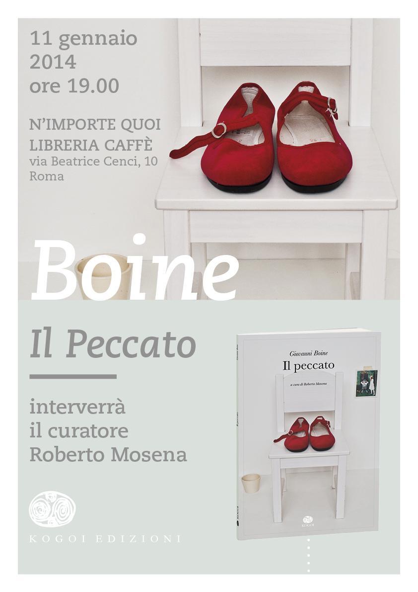 """Presentazione de """"il peccato"""" di Giovanni Boine al N'Importe Quoi Libreria Caffé"""