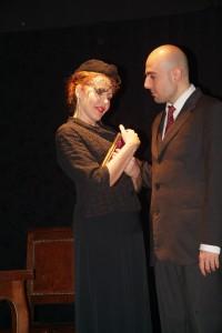 Chiara Pavoni e Luca Proietti ovvero Blanche e Mitch