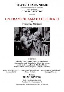 Locandina tram desiderio