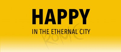 "Borned ""Happy in the Eternal City"""