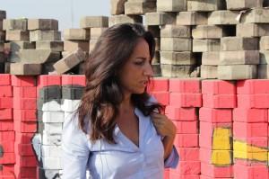 Lucia Goracci a Il Cairo