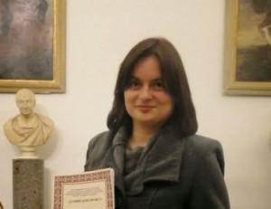 Michela Zanarella premiata in Campidoglio