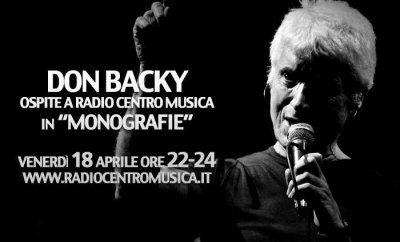 Don Backy a Radio Centro Musica