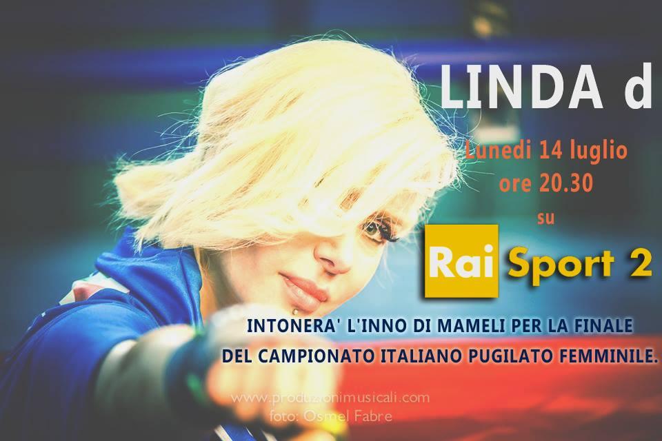 Linda d su RaiSport 2