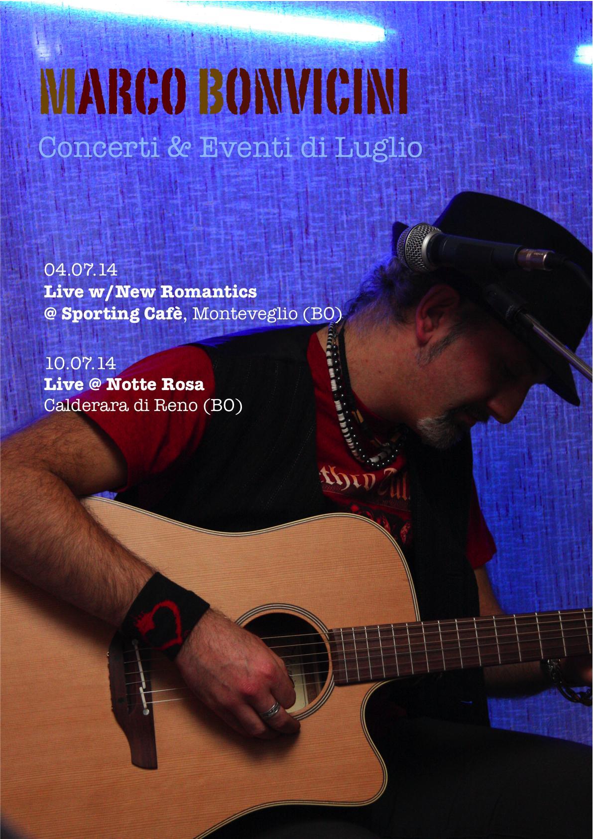 Marco Bonvicini – Live Luglio 2014
