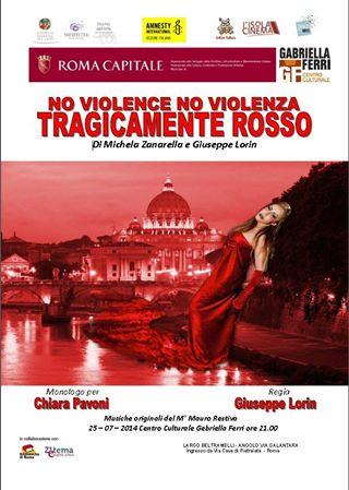 Tragicamente rosso al Centro Culturale Gabriella Ferri