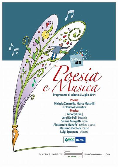Il 5 luglio Poesia e musica all'Exdepò di Ostia