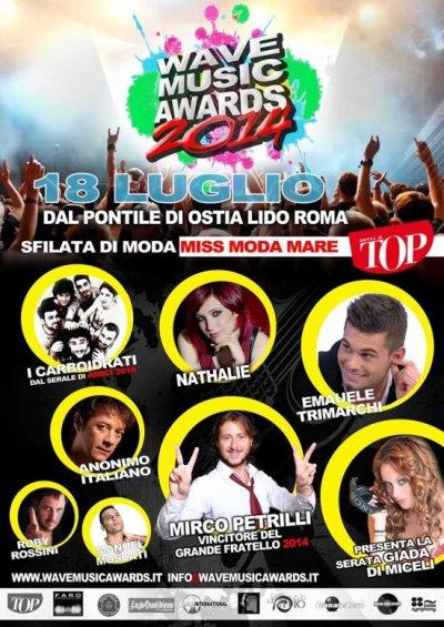 Wave Music Awards – Seratona con Big