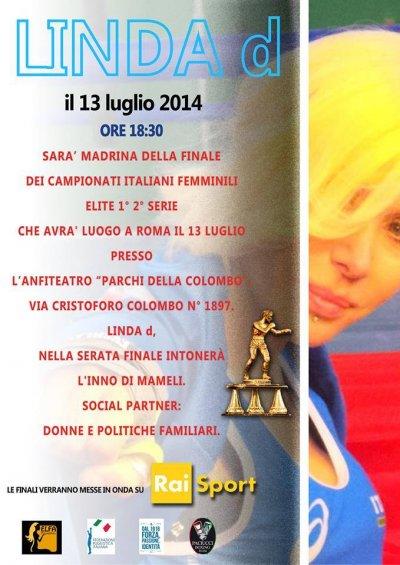 Linda d ai Campionati Italiani Femminili Elite