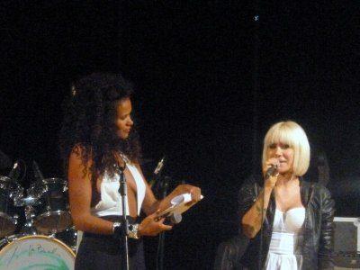 Gran successo di Linda d al Sanremo Music Awards