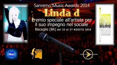 Linda d al Sanremo Music Awards 2014