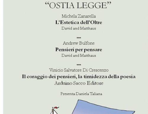 Michela Zanarella, Andrew Bulfone e Vinicio Salvatore Di Crescenzo ad Ostia Legge
