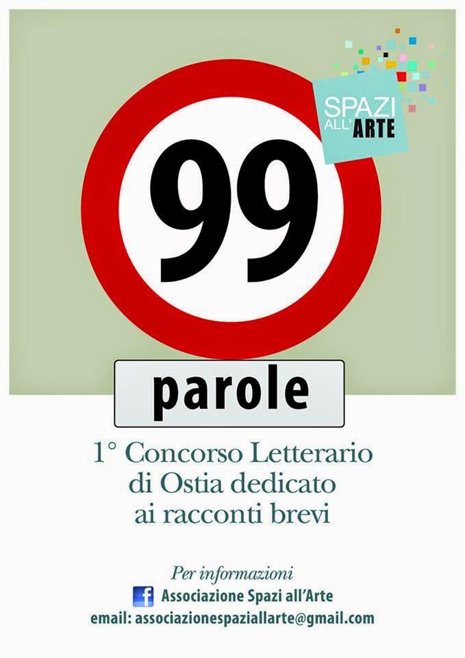 """""""1° Concorso Letterario di Ostia in 99 Parole"""" – Associazione Spazi all'Arte"""