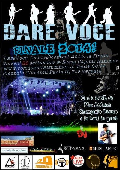 Dare voce – Finale 2014
