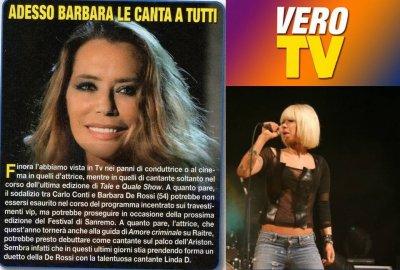 Su VERO TV la De Rossi annuncia Linda d