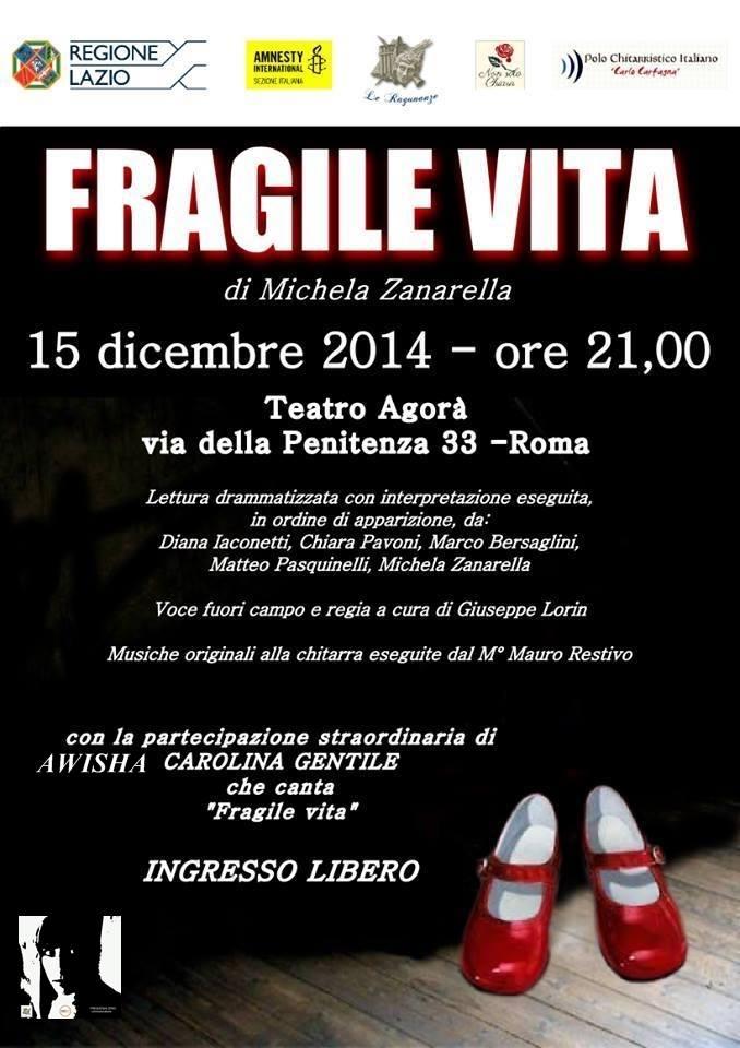 Fragile vita al Teatro Agorà