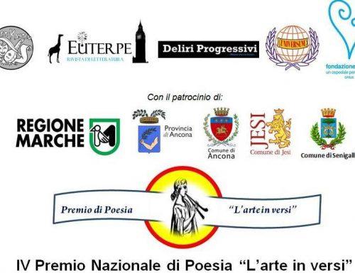 """IV Premio Nazionale di Poesia """"L'Arte in Versi"""""""