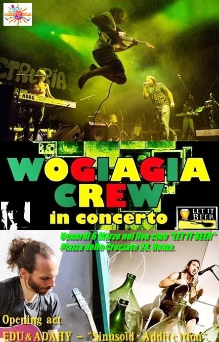 Wogiagia crew in concerto