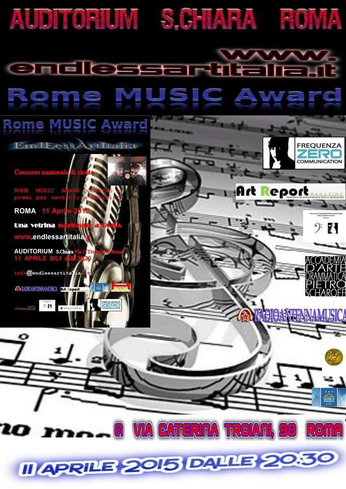 Rome Music Award 2015