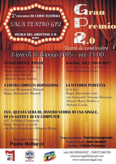 GRAN PREMIO 2.0 – teatro da condividere
