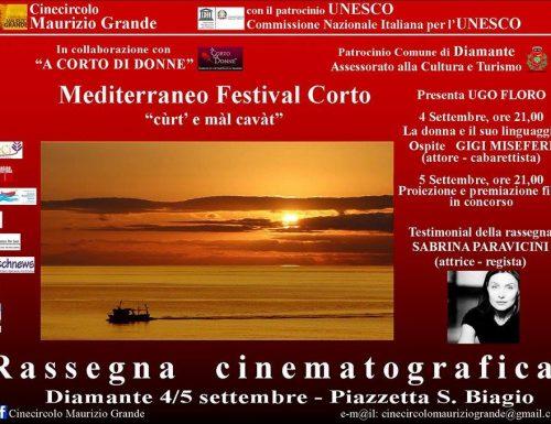 Quinta edizione del Mediterraneo Festival Corto di Diamante