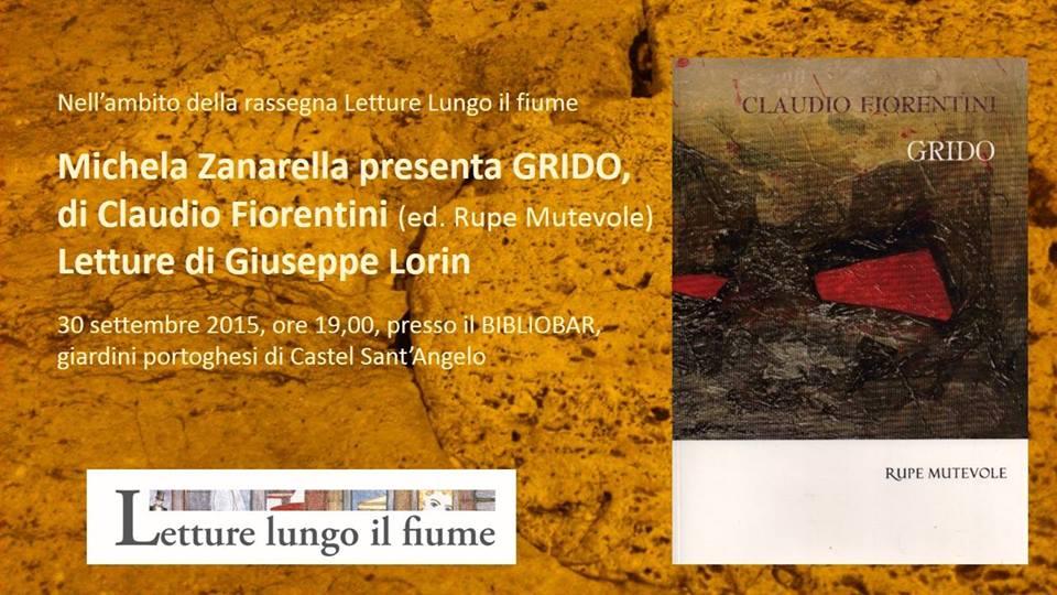 """Presentazione di """"Grido"""" di Claudio Fiorentini a Castel Sant'Angelo"""