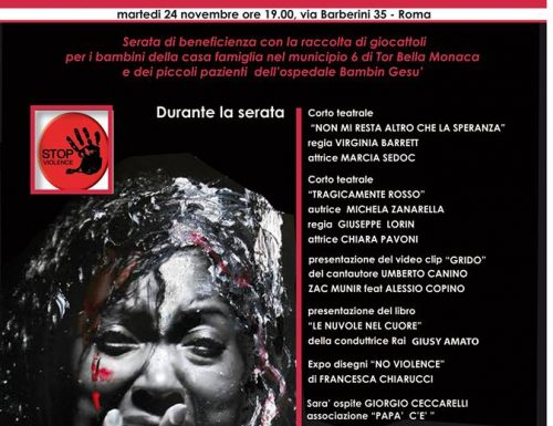 Giornata contro la violenza con l' L'Associazione Fajaloby di Marcia Sedoc