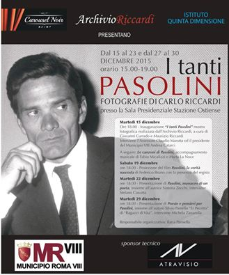 """""""I tanti Pasolini"""" alla stazione di Roma Ostiense"""