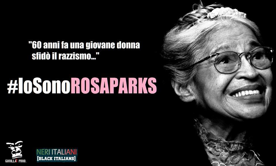#IosonoRosaParks – Tutti sul bus a Piazza Venezia