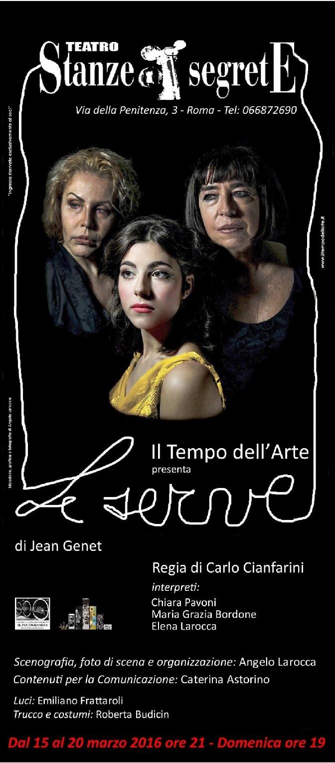 Le serve di Jean Genet in scena al Teatro Stanze Segrete