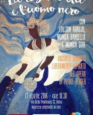 """""""La regina blu e l'uomo nero"""" al Teatro Agorà"""