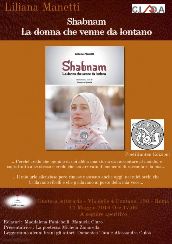 Shabnam, la donna che venne da lontano