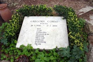 GREGORY CORSO urna