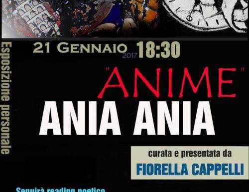 Anime, la personale di Ania Ania alla Domus Romana