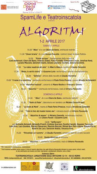 ALGORITMI aderisce al Good Deed Days organizzato in Italia dal CESV in collaborazione con la Maratona di Roma