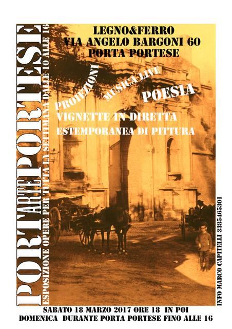 Apericena culturale nel cuore di Porta Portese
