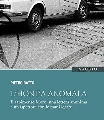 """In libreria il libro-inchiesta """"L'Honda anomala"""" di Pietro Ratto"""