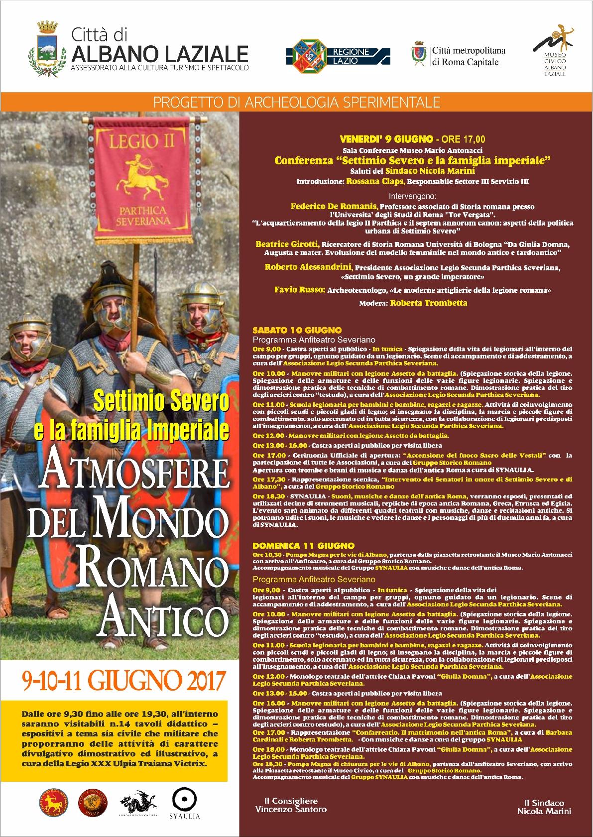 Chiara Pavoni in Giulia Domna per Atmosfere dal mondo romano antico