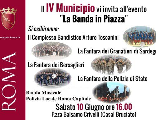 "Chiara Pavoni a ""La Banda in Piazza"""